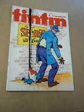 "MAGAZINE ""TINTIN, no 68"" (1974) POSTER ""CLINT EASTWOOD"""