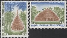 New Caledonia 1988 Traditional Houses/Buildings/Palm Trees/Nature 2v set  n45801