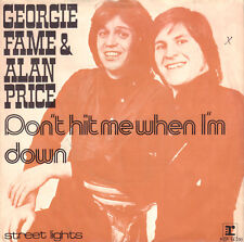 "GEORGIE FAME & ALAN PRICE ‎– Don't Hit Me When I'm Down (1973  7"" RARE DUTCH PS)"