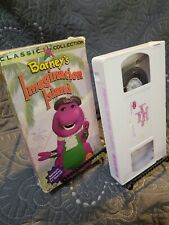 Barney's Imagination Island - Classic Collection - VHS (1994, Barney Home Video)