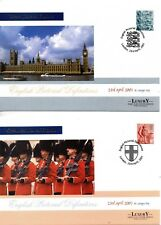 1999 Wales Sg W83/6 Wales Emblems FDC (Limited Edition of 2000 Covers)