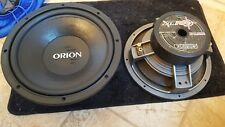 Orion XTR Pro 10 inch subwoofers old school one pair