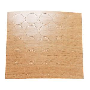 25 Selbstklebende Abdeckkappen 0,1€st Möbelpflaster Schraubenabdeckung 14 | 20mm