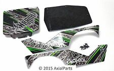 Axial Wraith Painted Body/Chassis Panels Roof Sides Screws Scale Crawler AX04027