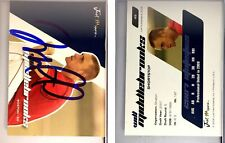 Will Middlebrooks Singed 2008 Just Autographs #49 Card Auto Autograph