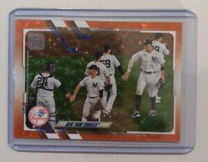 Carte de Baseball Topps - New York Yankees Team Orange Ice /299 - Aaron Judge