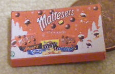 1:12 Scale Empty Maltesers Selection Packet Dolls House Christmas Food Accessory
