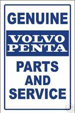VOLVO PENTA  -PARTS SIGN   -aluminum, top quality