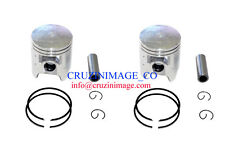 Yamaha TZR250 1KT 2MA Pistons set 1.0mm Oversize Rings Pin Clips 10-TZR250PS-2
