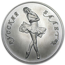 Russia 1 oz Palladium Ballerina BU (Random Year) - SKU #63888