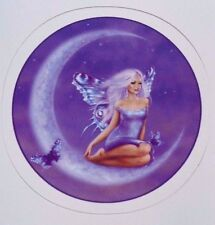 Fairy on The Moon Decal/Sticker New Design Lady In The Moon Moon Fairy