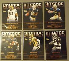 "Panini College Team Collection - Pitt - 6 ""Honors"" inserts (Fitzgerald, Dorsett)"