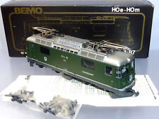 Bemo 1258 111; Universallok RhB Ge 4/4 II 611 Landquart, grün, in OVP /H421