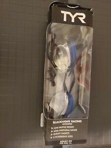 TYR BLACKHAWK RACING MIRRORED ADULT GOGGLES- Open Box-New