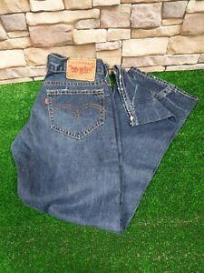 Levi's 907 Bootcut Twisted Seam Blue Jeans W30 / L32