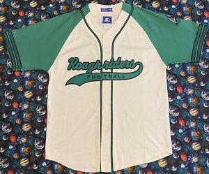 Rare Vintage Starter CFL Saskatchewan Roughriders Baseball Jersey