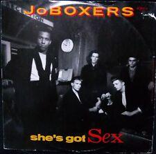 """JO BOXERS - SHE'S GOT SEX 12"""" SINGLE U.K. PRESSING"""