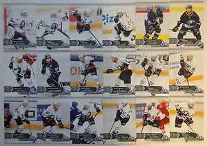 2015-16 KHL SeReal trading cards collection 8 season Medveščak Zagreb 18 cards