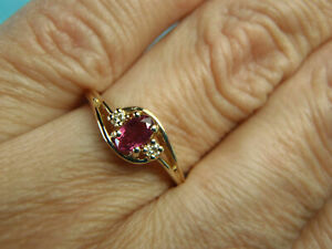 2.00 Ct Oval Cut Ruby Beautiful Engagement Ring Solid 14K Yellow Gold Over