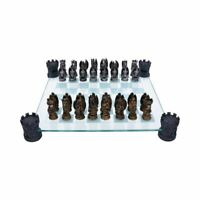 Nemesis Now Kingdom Of The Dragon Chess Set 43cm NEM5404