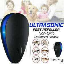 More details for ultrasonic electronic pest reject repeller anti mosquito bug insect killer uk