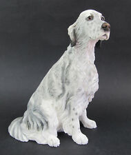 Border Fine Arts- English Setter Blue Belton Dog Figurine