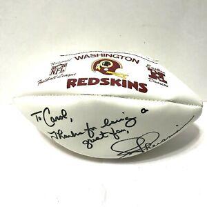 Joe Theismann Signed Autographed  NFL Hutch Football Washington Redskins 1970's