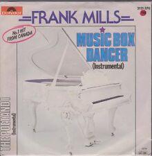 "7"" Frank Mills Music Box Dancer / The Poetandi 70`s Polydor"