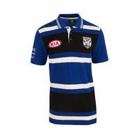 Canterbury Bankstown Bulldogs NRL CCC Players Media Polo Shirt Sizes S-4XL! T7
