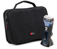 EVA Shaving / Shaver Bag / Case (in Red) - For Braun Series 3 ProSkin 3090CC