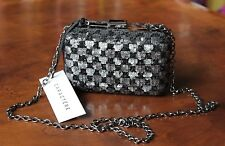 CARACTERE Women's Silver Black Metallic Purse Free Shipping New with Tags