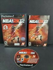 NBA 2K12 (PlayStation 2 2011) PS2 Complete Basketball Game Michael Jordan TESTED