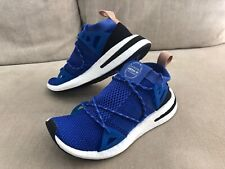 Details about Adidas Response Boost Techfit Womens Running Shoes Size 10 blue purple q6