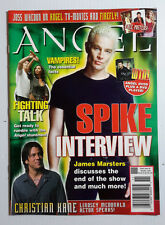 2004 Angel/Buffy Vampire Slayer Official Magazine #6-Spike Interview-Free S&H