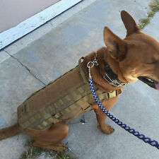 Tactical Outdoor Military Dog Clothes Load Bearing Training Vest Harness R#@