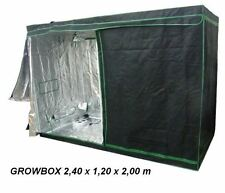 Greenbud Mylar Growschrank,growbox, 240x120x200,ohne giftige Weichmacher,growset