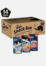 More details for felix • 14 pack snack box • felix snack box treats for cats • 765g