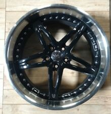 "(1) - USED 20"" NICHE MOXY WHEEL BLACK 20"" 5X4.5"