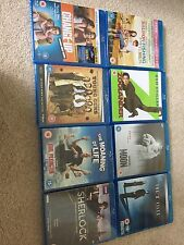 Blu Ray Bundle Job Lot X Files Young Guns Change Up Zoolander Moon Sherlock