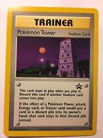 2x Pokemon Tower Stadium Trainer Card Promo #42 Trading Cards New Mint//Near Mint