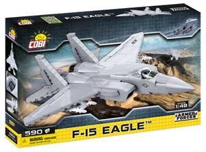 F-15 Eagle - COBI 5803- 590 brick fighter jet