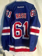 Reebok Premier NHL Jersey New York Rangers Rick Nash Blue sz L