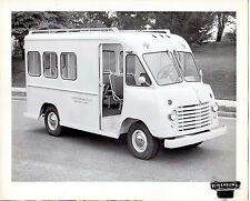 FORD 350 BOYERTOWN TRUCK BODIES Panel Step Van 1960's Promotional Advert Photo