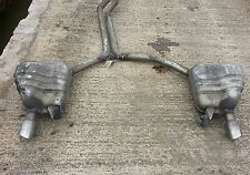Audi A5 COUPE 3.0 Tdi Quattro Exhaust REAR SILENCERS