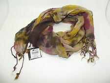 """FUNKY NEW Ex-STORE MULTI COLOUR 65"""" FRINGED LONG DECORATIVE SCARF RRP £14.00"""