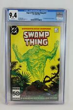 DC 1985 Saga of the Swamp Thing #37 1st Appearance John Constantine CGC 9.4