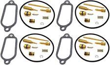 4x Carburetor Rebuild Kit Set Honda 72 73 74 CB 350 F F1 Carb Repair Kits #A138