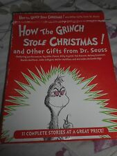 REDUCED RARE FIND LISTENING LIBRARY  HOW THE GRINCH STOLE CHRISTMAS 2 CD'S