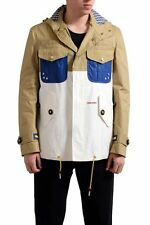 Dsquared2 Button Up Men's Hooded Oversized Fit Light Jacket US 2XS IT 44