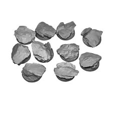 Felssporn Rocky recortará 25mm resin rundbases (10) Kromlech krrb 002